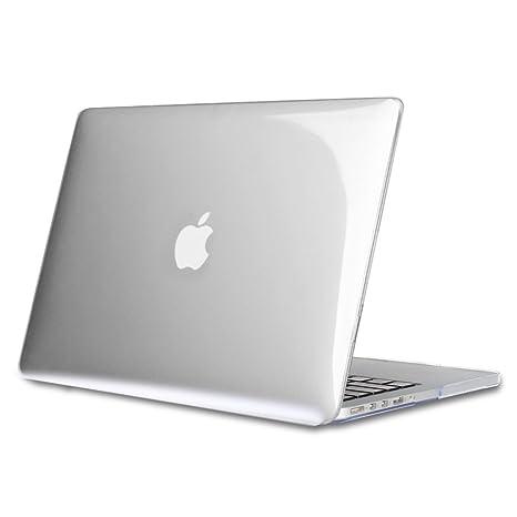 Fintie Funda para MacBook Pro 13 Retina - Súper Delgada Carcasa Protectora de Plástico Duro para