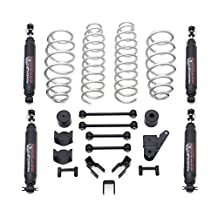 ReadyLift 69-6201 Spring Kit (ReadyLift Suspension 07-16 Jeep Wrangler JK 2.5in w/SST 3000 Shocks)