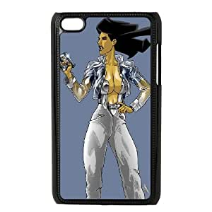 iPod Touch 4 Case Black GIRL WITH ONE GUN LV7062623