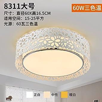 Damlonby Led lámpara de techo redonda sala de estar ...