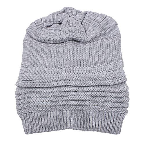 GOVOW Cashmere Hat Mens Winter Crochet Hat Ski Man vs. Wild Knit Warm Cap