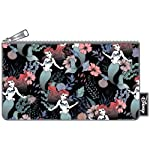 Arielle-Cosmetic-Bag-Makeup-Bag-Floral-Loungefly-205x12cm-nero-multicolore
