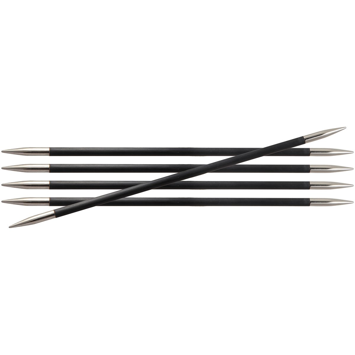 Knitter's Pride 9/5.5mm Karbonz Double Pointed Needles, 8 by Knitter's Pride B00H016P6A