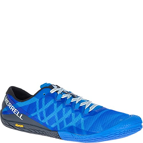 Merrell Men's Vapor Glove 3 Sneaker, Directoire Blue, 10 M U