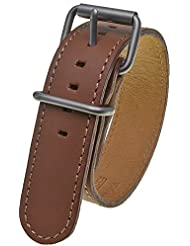 Bertucci DX3 #76 British Tan Leather Watch Band Fits A-2T, A-3T, B-1T, D-1T, G-1T, A-2S