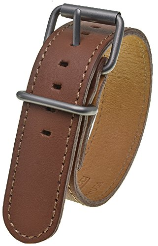 Bertucci DX3 #76 British Tan Leather Watch Band - Bertucci Watch Bands Leather