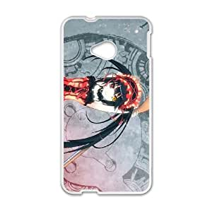 HTC One M7 Cell Phone Case Covers White Date A Live Qraae
