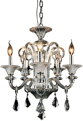 OmniLucent ARCD20C-23613 Halo Collection Chandelier