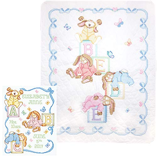 Janlynn - Nursery Décor Cross Stitch – Sleepy Baby Bunnie