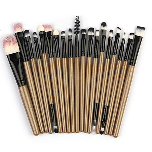 FORUU Make up Brushes, 2019 Valentine's Day Surprise Best Gift For Girlfriend Lover Wife Party Under 5 Free delivery 20pcs/set Makeup Brush Set tools Make-up Toiletry Kit Wool Make Up Brush Set