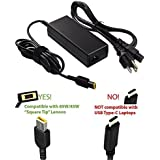 20V 4.5A 90W AC Charger for Lenovo Yoga 720-15IKB (Only Fit for Yoga 720-15IKB) Laptop with 5Ft Power Supply Adapter Cord