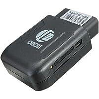 OBD II GPS Tracker - TOOGOO(R) OBD II GPS Tracker Locator Pocket Satellite Anti-Theft Spy GSM GPRS SIM SOS Black