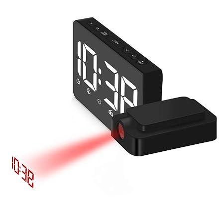 UR MAX BEAUTY Despertador De La Proyección para El ...