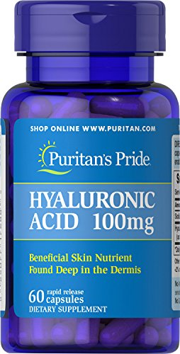 Cheap Puritans Pride Hyaluronic Acid 100 Mg, 60 Count