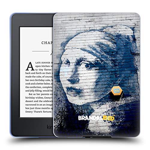 Official Brandalised Pierced Eardrum Banksy Textured Art Soft Gel Case Compatible for Kindle Paperwhite 1/2 / 3 (Banksy Kindle Case)