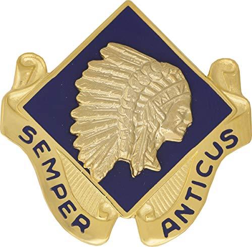 45th Infantry Brigade (Right) Unit Crest (Semper Anticus)