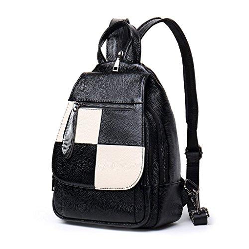 sac sac élégant à dos cuir main souple en à et Simple marée à à des cuir dames mode Mini Sac tendance QI sauvage en cuir tendance Blanc Blanc sac dos femmes Couleur multifonctionnel en dos DEI wfPvqP