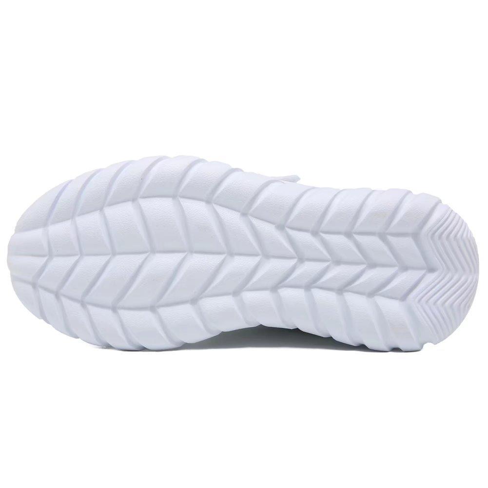 GUBARUN Kids Running Shoes Boys and Girls Lightweight Comfortable Walking Sneakers(11, White) by GUBARUN (Image #4)