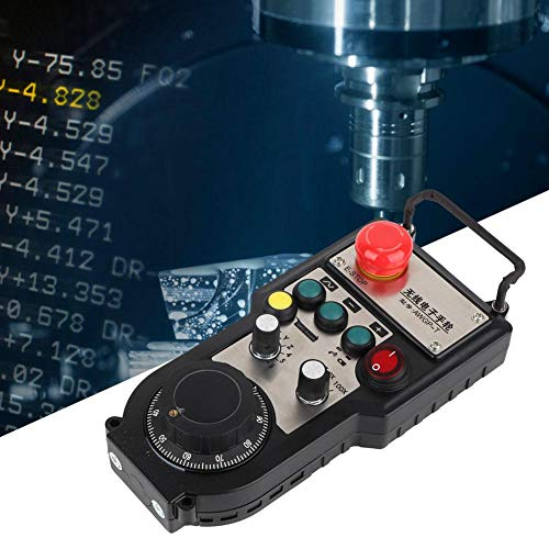 CNC彫刻機用ワイヤレス電子ハンドホイール、ATWGP03-6AA-3ハンドヘルドハンドホイールコントローラ