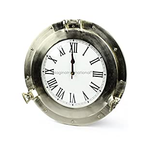 51JAUOXvuPL._SS300_ Nautical Themed Clocks