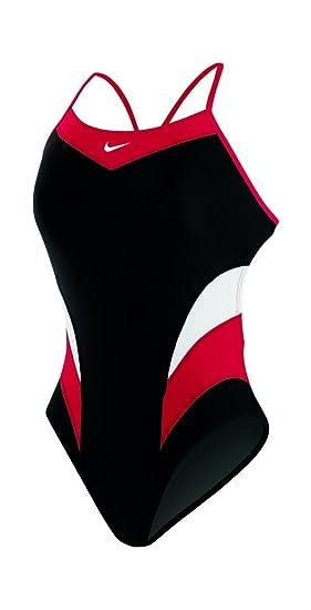 38d7e66e9e80 Amazon.com   Nike Women s Victory Color Block Cut-Out Tank Swimsuit    Sports   Outdoors
