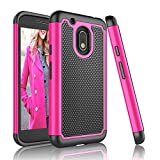 Moto G4 Play Case, Moto G Play Case, Tinysaturn [YSaturn Series] [Hot Pink] Shock Absorbing Slim Rubber Plastic Scratch Resistant Defender Bumper Rugged Hard Cover Cases For Motorola G4 Play XT1607 Review