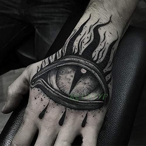 ljmljm Tamaño 3pcswaterproof Etiqueta engomada del Tatuaje de ...