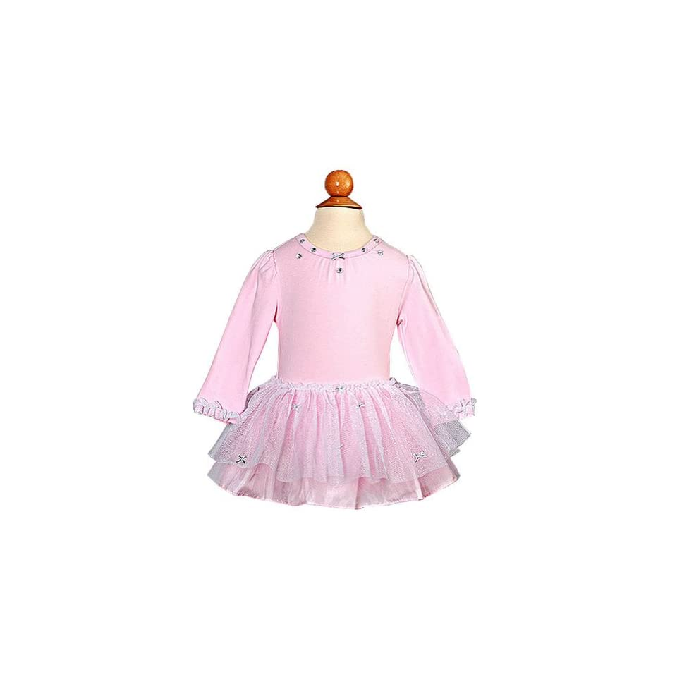Bonnie Jean Newborn Girl Pink Leotard Tutu Outfit 0 3M Infant And Toddler Costumes Clothing