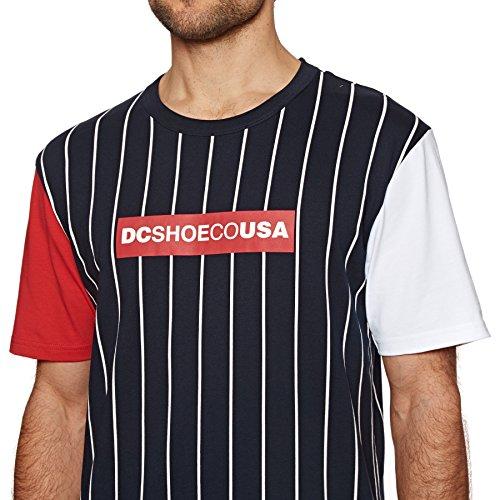 fenton blanco Camiseta rojo Dc Azul 5xgUqwR6x