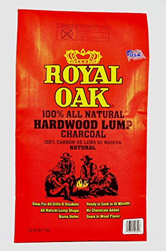 Royal Oak 195228021 15.4# NAT Lump Charcoal, 15.4 lb