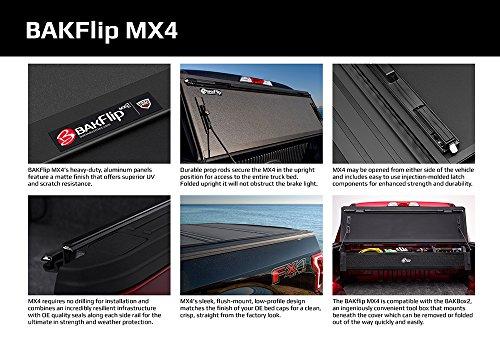 ارخص مكان يبيع BAKFlip MX4  Hard Folding Truck Bed Tonneau Cover | 448203