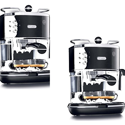 De'Longhi Black Stainless Steel Fully Automatic Espresso Machine - De'Longhi Model - ECO310BK - Set of 2 Gift Bundle