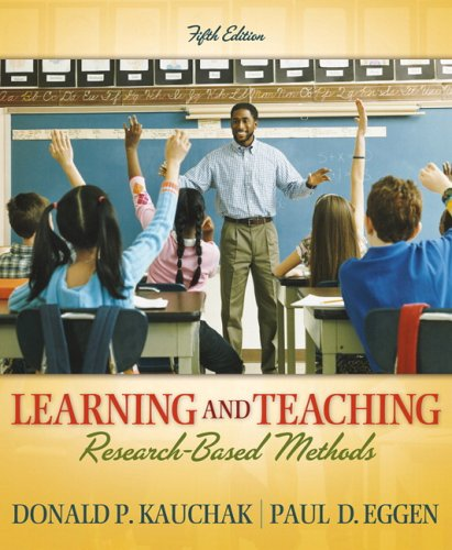Learning and Teaching: Research-Based Methods (5th Edition)