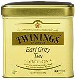 Twinings Earl Grey Tea, Loose Tea, 3.53-Ounce Tins (Pack of 6)
