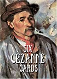 Six Cezanne Cards, Paul Cezanne, 0486413454