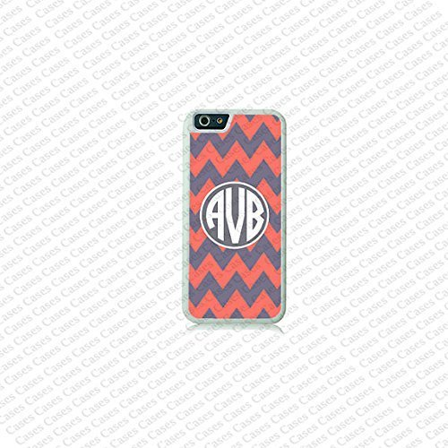 Krezy Case Chevron Monogram iPhone 6 Plus Case,Monogram iPhone 6 Plus Cover, Custom iPhone 6 5.5 inch Cases, Cute...