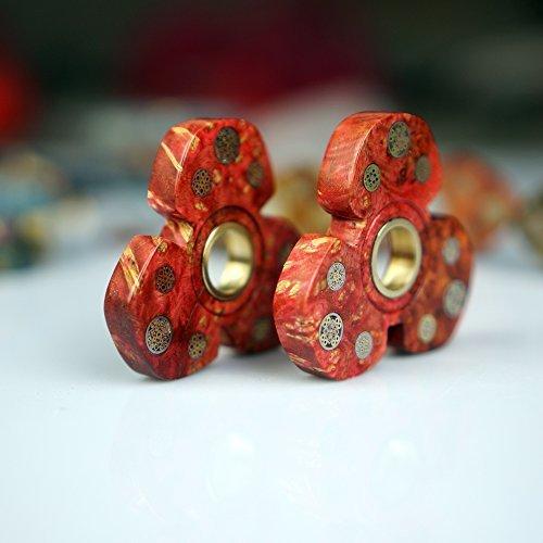 Sunnytech 1zappeln Spinner Spielzeug EDC Exquisite Hand Spinner DIY Puzzels für ADHD Angst Langeweile HS68