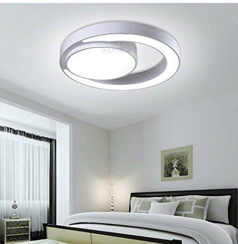 Mode Modernes Kreative Schlafzimmer Unbedeutendes Lampe Restaurant Runde Deckenleuchte Wohnzimmer Led Studie Beleuchtung BoxredC