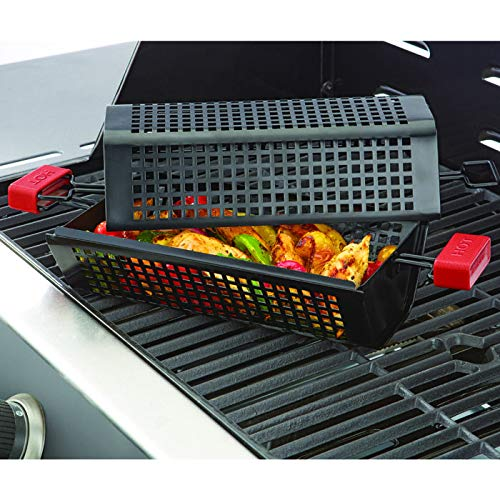 Brookstone Nonstick Grill Tumbler BBQ Grilling Basket by Brookstone (Image #3)