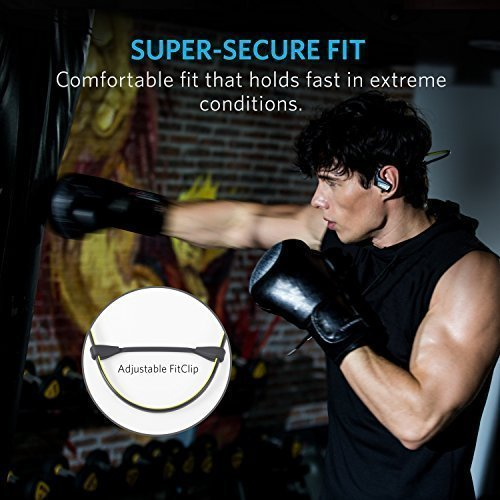 Anker SoundBuds Sport NB10 Bluetooth Headphones, IPX5 Water-Resistant Bluetooth Headset with Adjustable Neckband, Sport Earbuds with Mic and CVC 6.0 Noise Cancellation for Work Out, Gym and Running by Anker