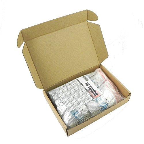 Assortment Metal (Ictouch 100value 500pcs 2W Metal Film Resistor +/-1% Assortment Kit KIT0141)