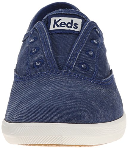 Sneaker Navy On Washed Keds Keds Womens Womens Laceless Slip Chillax 0qS7z0w8F1