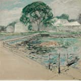 Perfect effect Canvas ,the Beautiful Art Decorative Prints on Canvas of oil painting 'John Henry Twachtman,Harbor View Hotel,1902', 16x16 inch / 41x41 cm is best for Gym artwork and Home decoration and Gifts