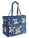 Vera Bradley Get Carried Away Tote (Blue Bayou), Bags Central