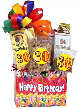 Amazon Com 30th Birthday Gift Basket Surprise Gourmet Snacks And