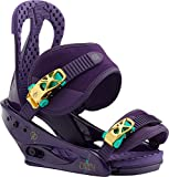 Burton Citizen Snowboard Bindings Purps Womens Sz M (6-8)