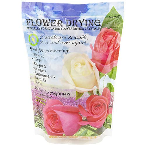 Silica Gel Drying Flowers - Flower Drying Crystals , 1.5-Pound