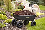 Gorilla Carts GOR4PS Poly Garden Dump Cart with