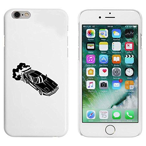 Blanc 'Voiture' étui / housse pour iPhone 6 & 6s (MC00030814)