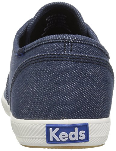 Keds-dames Kampioen Denim Mode Sneaker Indigo / Zwart